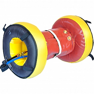 Inflatable fast purge system