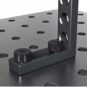 Welding tables clamping bolt example
